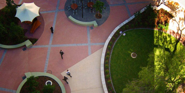 UQ Courtyard, Brisbane