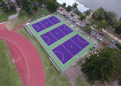UQ Netball Courts